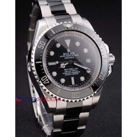 Rolex replica deepsea seadweller 44mm bicolor orologio replica copia
