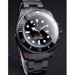 Rolex replica deepsea seadweller 44mm jacques piccard pro-hunter PVD orologio replica copia
