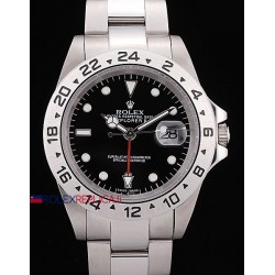 Rolex replica explorer II classic black dial orologio replica copia