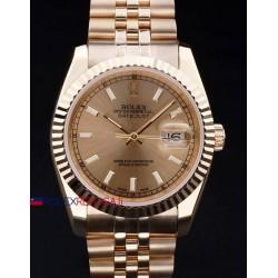 Rolex replica datejust full oro barrette orologio replica copia