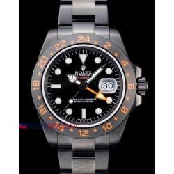 Rolex replica explorer II big 42 mm pro-hunter PVD orange orologio replica copia