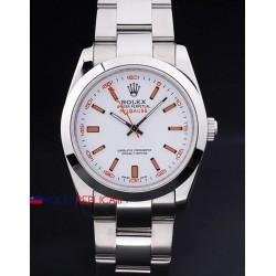 Rolex replica milgauss white dial orologio replica copia